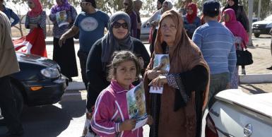 أهالي شاب تونسي مختطف في ليبيا يقطعون طريقا للمطالبة باطلاق سراحه