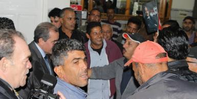 المرشح للرئاسة منذر الزنايدي يزور معتمدية بوعرادة بولاية سليانة