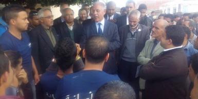 المرشح للرئاسة مصطفى كمال النابلي في زيارة لمعتمدية بوحجلة