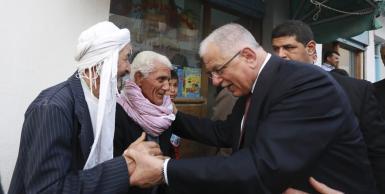 مرشح الانتخابات الرئاسية  كمال مرجان في زيارة الى ولاية سوسة