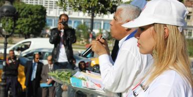 اجتماع شعبي للمرشح صافي سعيد في العاصمة