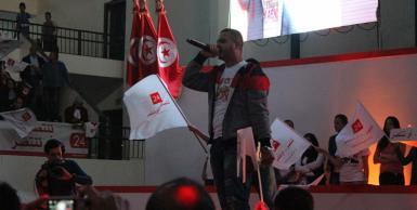 جينيرال يشارك في ختام الحملة الانتخابية للمنصف المرزوقي