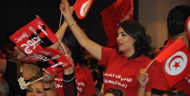 اجتماع شعبي لحركة نداء تونس بالحمّامات بمناسبة إختتام الحملة الإنتخابية الرئاسية