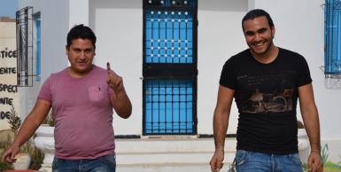 جربة : يهود تونس ينتخبون