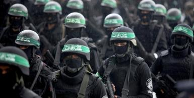 في ذكرى تأسيسها 27 : عرض عسكري لكتائب عز الدين القسام الجناح العسكري لحركة حماس