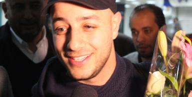 وصول الفنان العالمي ماهر زين الى مطار تونس قرطاج الدولي