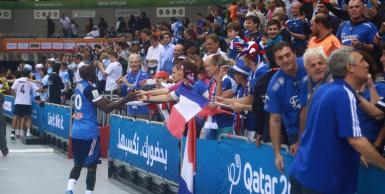 تأهل فرنسا  إلى دور الثمانية بمونديال اليد