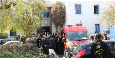 صور العملية الارهابية اليوم بمتحف باردو