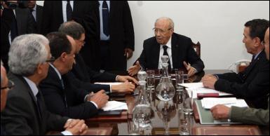 رئيس الجمهورية يتنقل لمتابعة مستجدات العملية الإرهابية