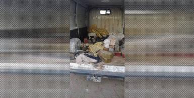 صور لبعض الأسلحة المحجوزة في بن قردان